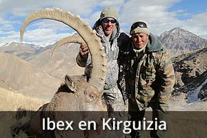 Ibex en Kirguizia, Viaje de caza