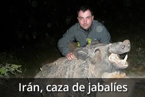 Irán, Caza de Jabalíes, Viaje de caza